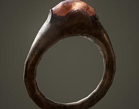Ancient Ring 3D asset