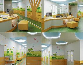 3D model Hospital 01