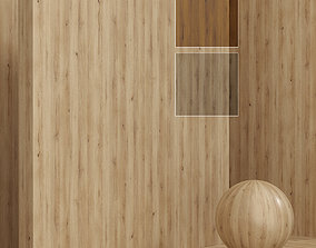 3D model Wood material - Oak seamless