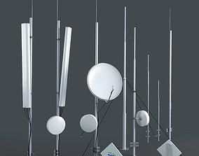 Antenna set 3D