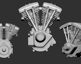 car harley davidson 3D model
