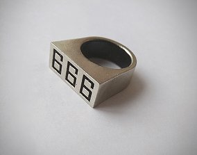 Ring 666 Fran Katekyo Hitman Reborn 3D print model
