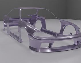 3D model Nissan Silvia S14 Zenki D-Max Type I 1 body