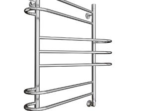 boiler 3D model towel rail