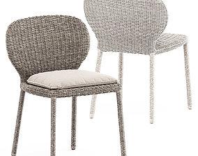 3D model Strada side chair by Janus et Cie