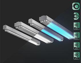 3D Disinfection Fluorescent Germicidal UV Lamps