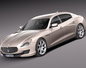 Maserati Quattroporte 2013 3D 2015