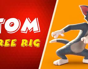 3D model tom Free rig