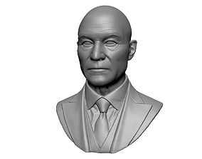 3D printable model Charles Xavier Professor X