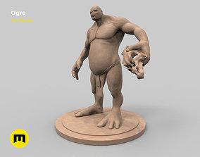3D printable model Ogre figure creature