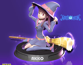 3D printable model Akko - Little Witch