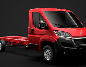 3D Peugeot Boxer Manager Chassis Truck Single Cab 4300WB 1