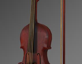 Fiddle Violin 3D model
