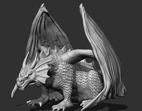 3D print model Dragon Statue dinosaur