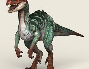 3D asset Game Ready Fantasy Raptor