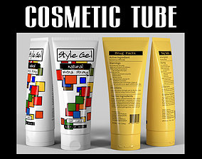 Cosmetic tube 04 3D