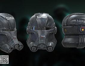 Clone Force 99 Echo Full Size Helmet 3D print model