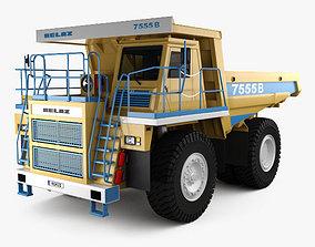 3D BelAZ 7555B Dump Truck 2016
