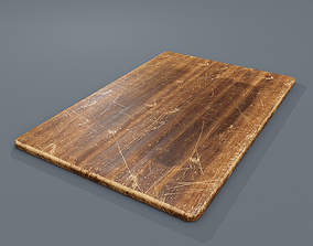 3D asset Cutting Board