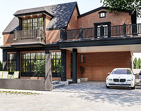 3D Residential house model in sketchup and lumion