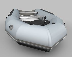3D model Zodiac Boat Raft