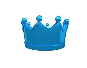 Crown v2 010 3D asset