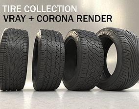 Tire car 3D Model tire