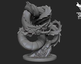 Jormungard 3D print model