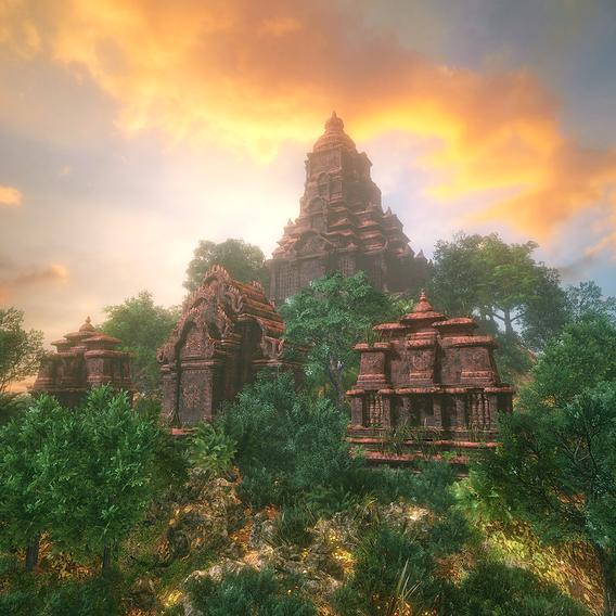 Ruin Temples