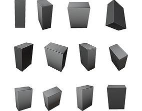 3D asset low-poly Product Box