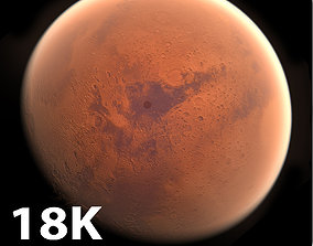 3D model 18k Photorealistic Mars 32k