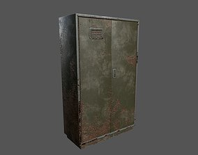 3D asset Old Cupboard