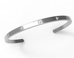 0537 Cuff Bracelet 3D printable model