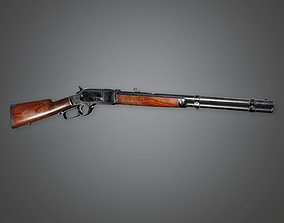 FPS Western Rifle - Acton - WES - PBR Game Ready 3D model