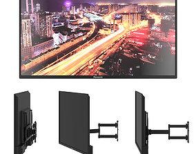 3D Panasonic - Bracket TV