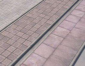 pavement 3D model