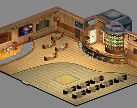 3D model Future World - Bar 06