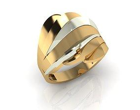 3D printable model ring F 433