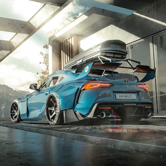 Toyota Supra 2020 FULL CGI