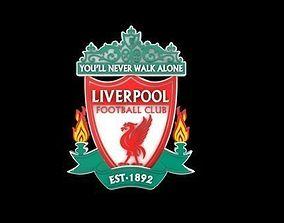 Liverpool logo 3D