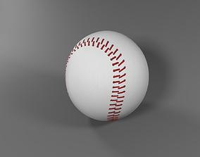 Baseball sports 3D model PBR
