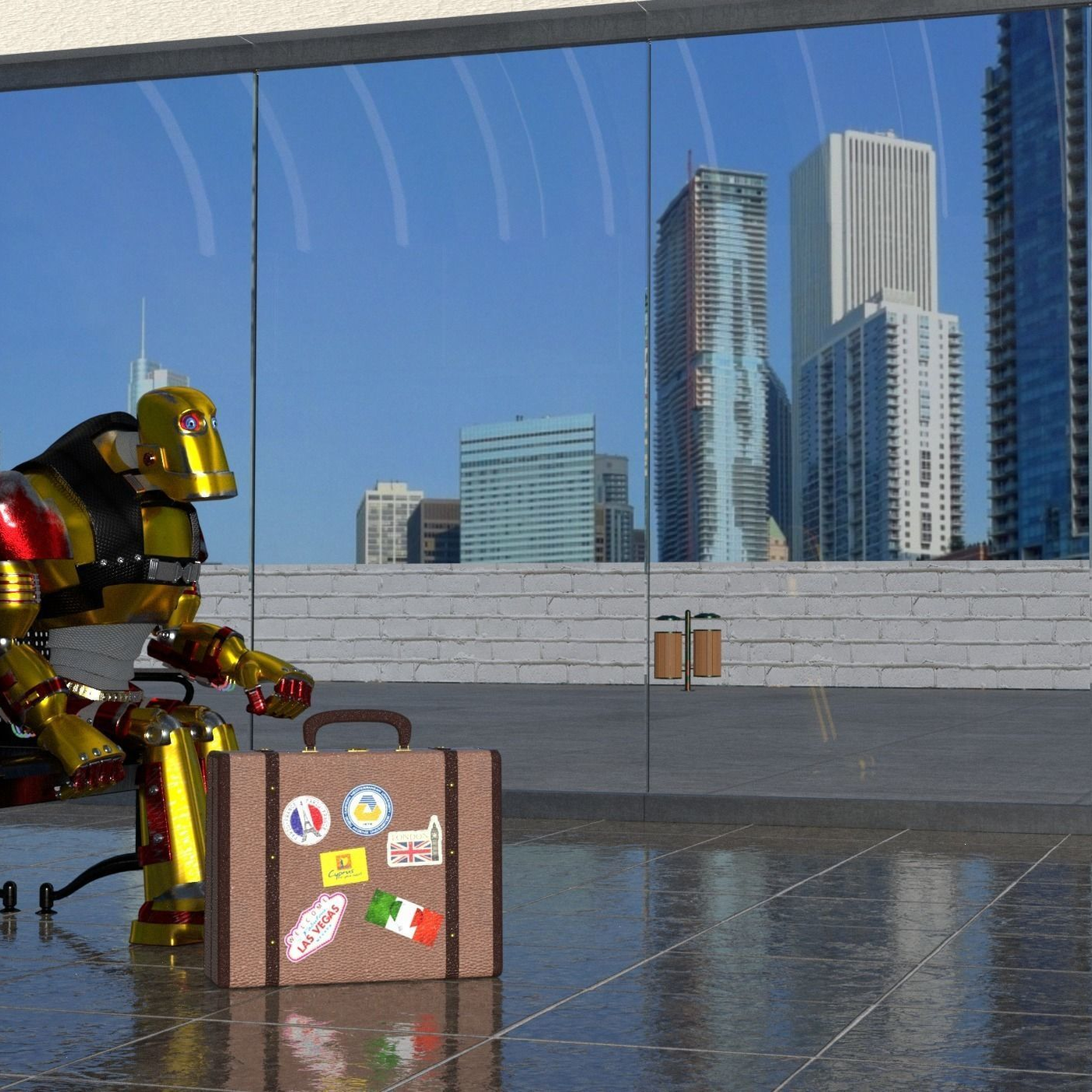 traveller robot 3D Model