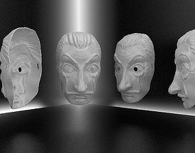 3D printable model Dali party mask