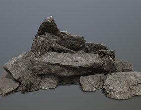 rocks mount 3D asset realtime