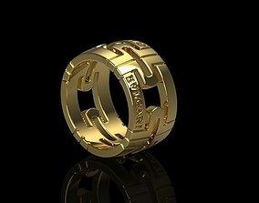 platinum Bvlgari ring 3D printable model