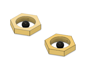 3D printable model Meltan Earrings