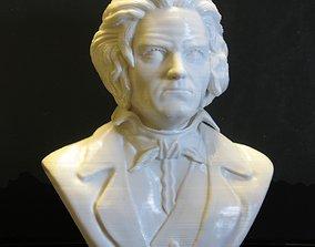 3D print model bethoven bust