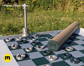 3D printable model Travel Chess Tube