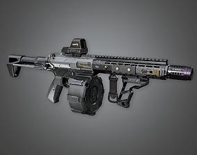 FPS Modern Shotguns - Raptr 3D model