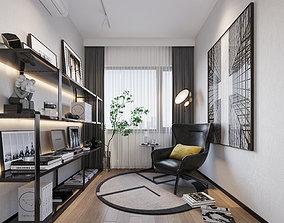 Reading Room-CORONA 3dmodel